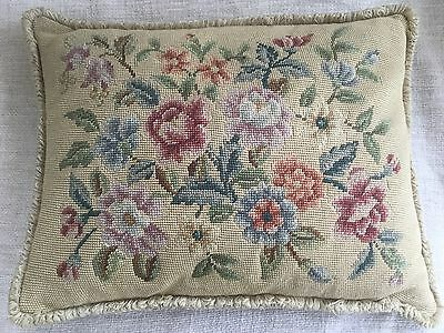 vintage tapestry cushion