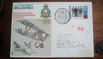 Billy Drake signed cover Battle of Britain