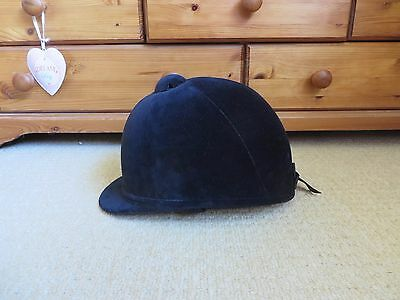 Excellent condition, Charles Owen navy young riders Hat , size 7 / 57