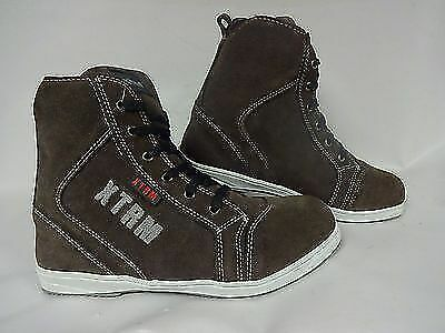 Motorcycle Motorbike Scooter Xtrm 804  Touring City Boots  Brown