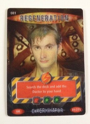 Doctor Who: Battles In Time - Regeneration Card #081
