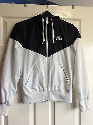 Nike Air Jacket, Size M, Ladies, White And Black