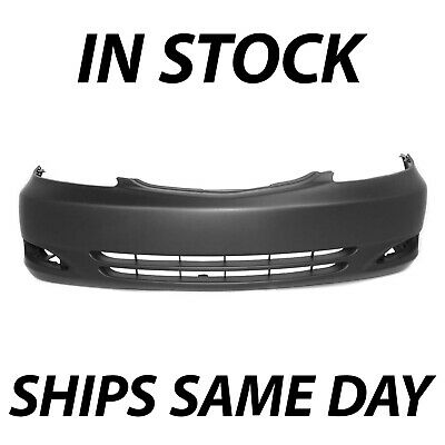 NEW Primered Front Bumper Cover Replacement for 2002-2004 Toyota Camry 02-04