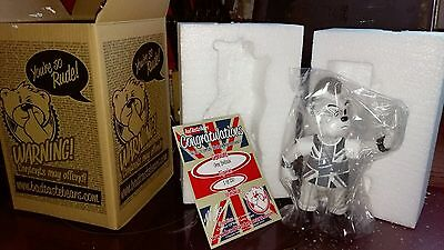 Bad Taste Bears Spunky Grey Lmited Edition Figure New Boxed + Certificate