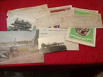 Railwayana Steam Train Rare Manchester Railway Pieces Etc