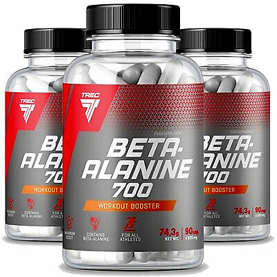 BETA-ALANINE 700 60-240 Caps. Strong Pure Endurance Efficiency Carnosine Booster