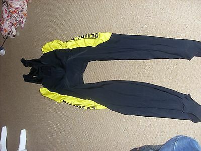 Mens Sudgaz cycle bib tights leggings size 6 size xl xxl