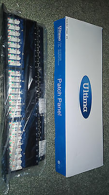 NEW Ultima 48 port patch panel model 777649