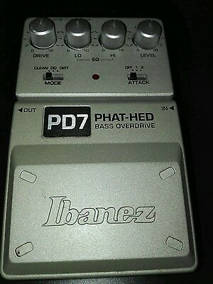Ibanez Phat Head Pd7 Bass Overdrive