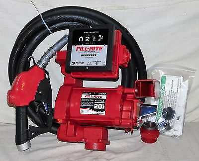 Fill-Rite FR711VA Automatic Fuel Transfer Pump 115V Ultra High Flow with Meter