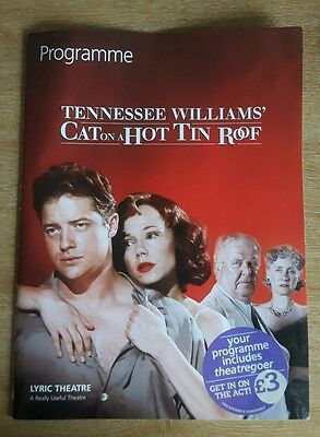 Cat On A Hot Tin Roof By Tennessee Williams - Lyric Theatre Programme