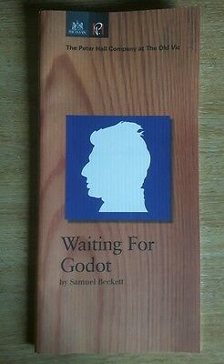 Waiting For Godot By Samuel Beckett - The Old Vic Theatre Programme