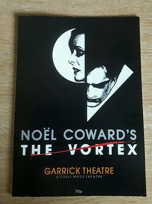 The Vortex By Noel Coward - Garrick Theatre Programme