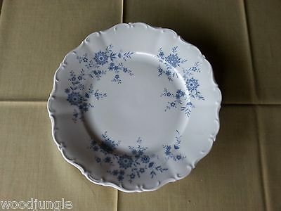 Vintage SELTMANN WEIDEN CHRISTINA PORCELAIN BAVARIAN BLUE DINNER PLATE GERMANY