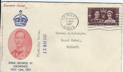1937  Gb Coronation First Day Cover