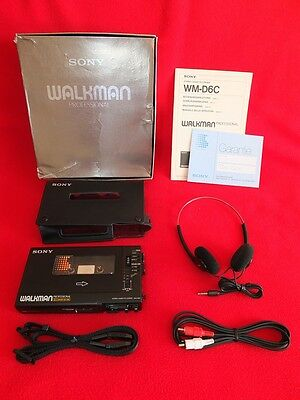 Last Revision SN505591 Sony Walkman Professional WM-D6C Boxed MDR-005 DC Adaptor