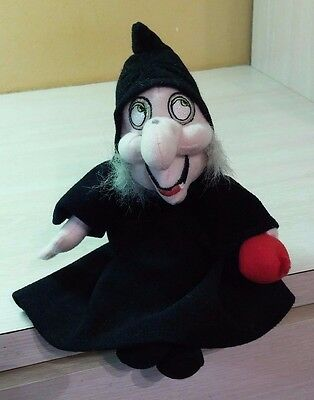Authentic Disney Snow White and the Seven Dwarfs Wicked Witch Doll Plush 10""