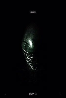 Alien Covenant Theatrical Movie Poster 1 (2017) 27x40 + Clear laminate