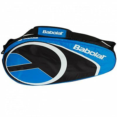 Tennis Babolat Club Bag Blue Holds 6 Rackets RRP £30.00