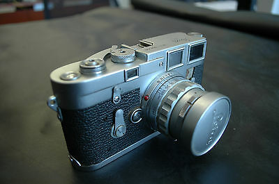 Leica M3 35mm Rangefinder Film Camera with 50 mm lens