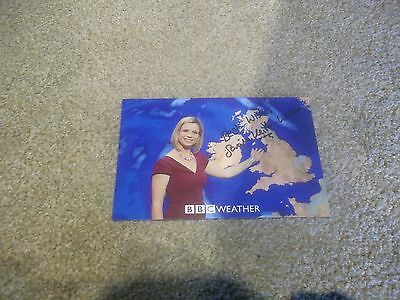 Sarah Keith-Lucas (BBC Weather) Hand Signed Photo