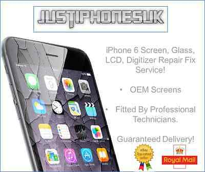 Apple Fast! OEM iPhone 6 Screen, Digitiser,Touch Replacement Repair Fix Service