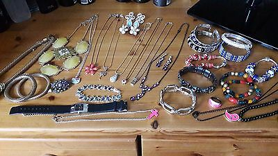 Mixed Job Lot Of Good Condition Costume Jewellery