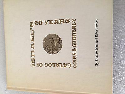 1968 CATALOG OF ISRAEL'S 20 YEARS Coins & Currency hc/dj