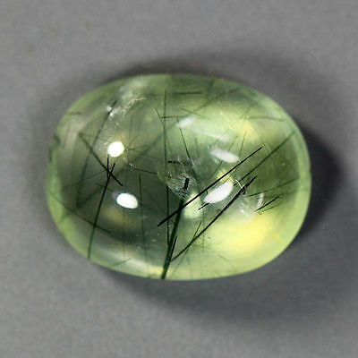 4.47 Cts_Simmering Ultra Nice Gemstone Collection_100 % Natural Rutile Prehnite