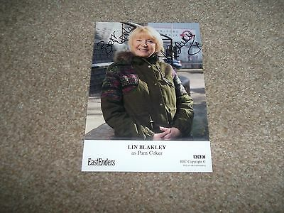 Lin Blakley(Eastenders) Hand Signed Cast Card