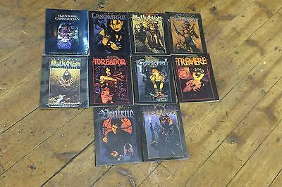 Vampire The Masquerade - Clanbook - 10 Books For Sale - Vintage - 1993 - 2000