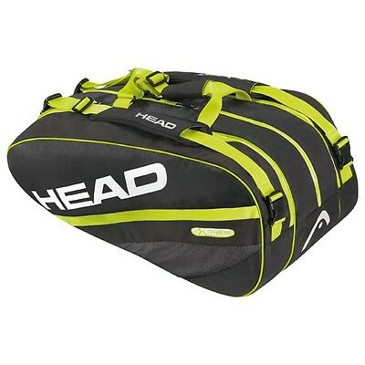 Tennis HEAD Extreme Combi Bag 8 Racket fit RRP £79.95