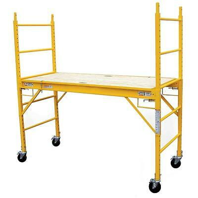 6 x 6 Multi-Use Drywall Baker Scaffolding with 1000 lb. Load Capacity New Ladder