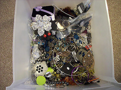 Large Mixed Costume Jewelry Lot