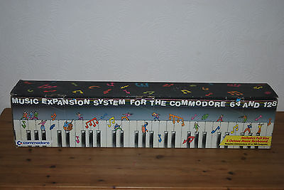 Music Expansion System For The Commodore 64 and 128, boxed but incomplete