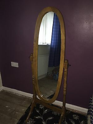 Solid Pine  Free Standing Mirror Large Full Length shabby chic project