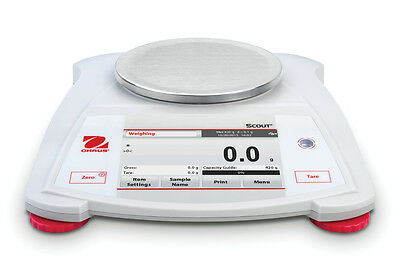 Display New Ohaus STX421 Portable Touchscreen Scale- 420 Gram x 0.1 g - Warranty
