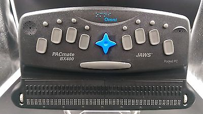 PacMate Omni BX400 Windows computer braille computer /! Not tested /!