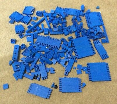 Lego Collection Of Various Bricks And Pieces - Blue