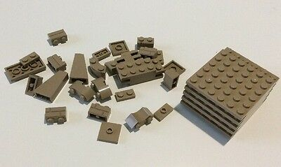 Lego Collection Of Various Bricks And Pieces - Silver & Gold