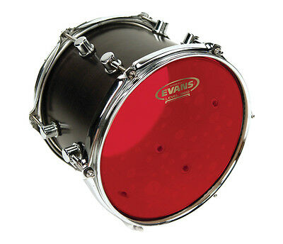 """Evans Hydraulic Red Drum Heads, Oil Filled, 10"""",12"""",14"""",16"""""""