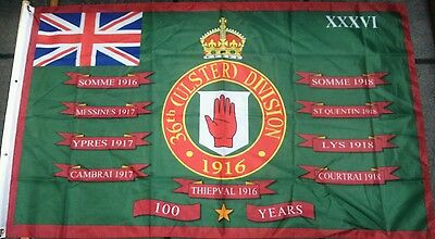 36Th (Ulster) Division / Battle Of The Somme Centenary / 100 Years / Ulster Uvf