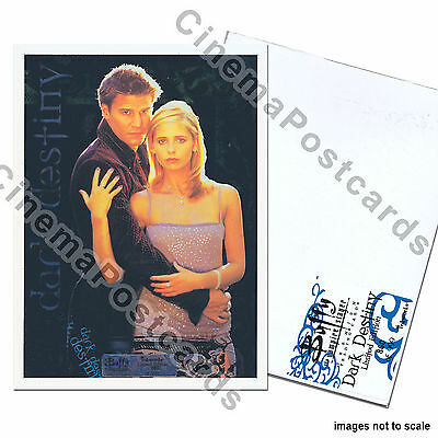 Buffy the Vampire Slayer UNCUT Foil Trading Card Sheet #2 Dark Destiny D1 to D9