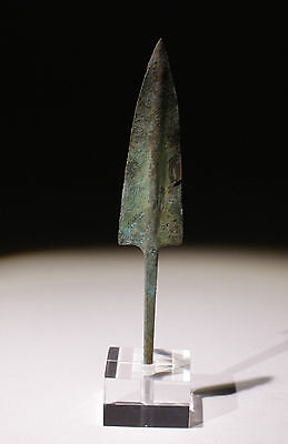 Quality Ancient Bronze Arrow Head With Mount 1200Bc  - No Reserve!