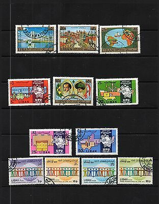 Liban -  3 Used  Sets of Stamps  - MODERN Commemorative   LOT ( LEB 378)