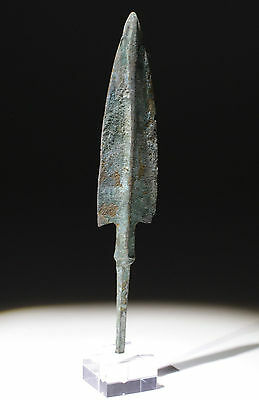Quality Ancient Bronze Arrow Head With Mount 1200Bc  - No Reserve!!!!!!!!!