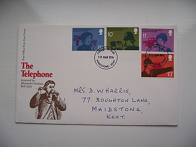 FDC - First Day Cover - 1976 The Telephone