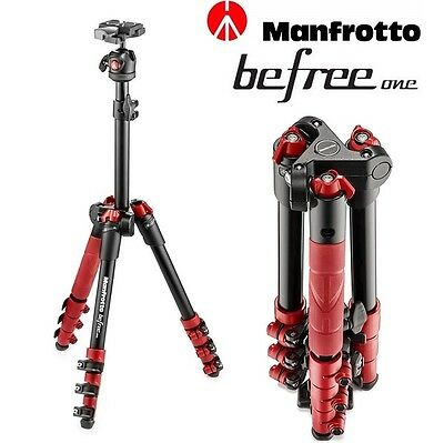Manfrotto BeFree One MKBFR1A4R-BH Rojo