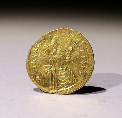 Nice Ancient Hammered Gold Coin Byzantine - No Reserve!!!