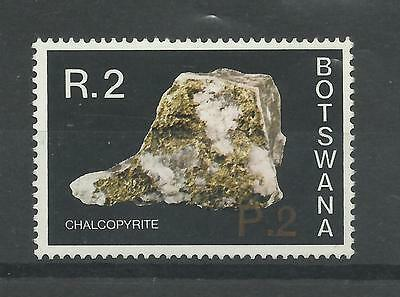 BOTSWANA 1976  New Currency 2p on 2R Surcharge Top Value   umm / mnh